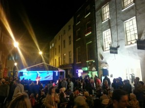 Sth Frederick St celebrating Culture Night