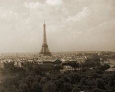 The Eiffel Tower by Benjamin Miller
