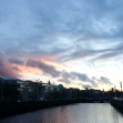 Sunset-Liffey-River-in-Dublin